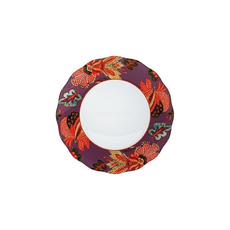 Plato de cerámica Rosa V&A Toile [CLONE]