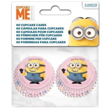 Cápsulas para mini cupcakes Minions
