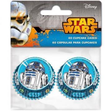Cápsulas para mini cupcakes Star Wars
