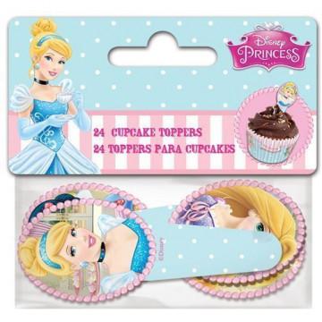 Pack de 24 Toppers de Princesas Disney