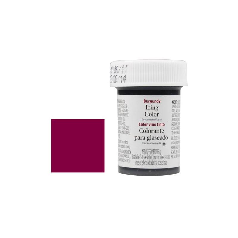 Colorante en gel Burgundy Vino Tinto Wilton