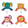 Pack de 8 toppers Fun Pix Jungle Animales en la Jungla Wilton