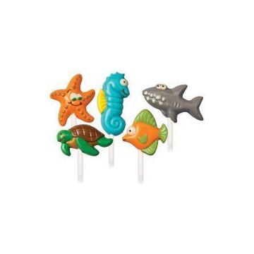 Molde para piruletas Sea Creatures Animalitos del Mar Wilton