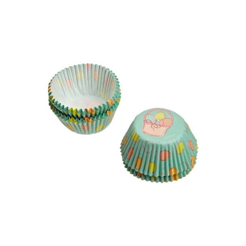 Capsulas cupcakes mini Cestita de Huevos de Pascua Wilton