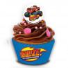 Papel de azúcar para cupcakes 16 unidades Gorjuss [CLONE]