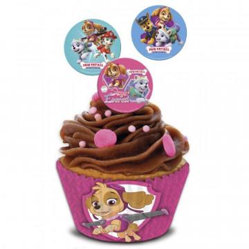 Papel de azúcar para cupcakes 16 unidades Gorjuss [CLONE] [CLONE] [CLONE] [CLONE]