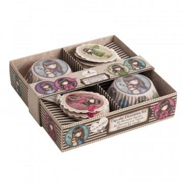 Set para cupcakes: Gorjuss