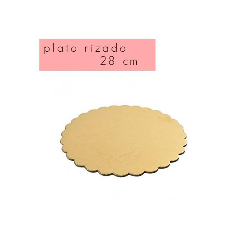 Bandeja plato borde rizado 18 cm [CLONE] [CLONE] [CLONE] [CLONE]