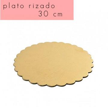 Bandeja plato borde rizado 18 cm [CLONE] [CLONE] [CLONE] [CLONE] [CLONE]