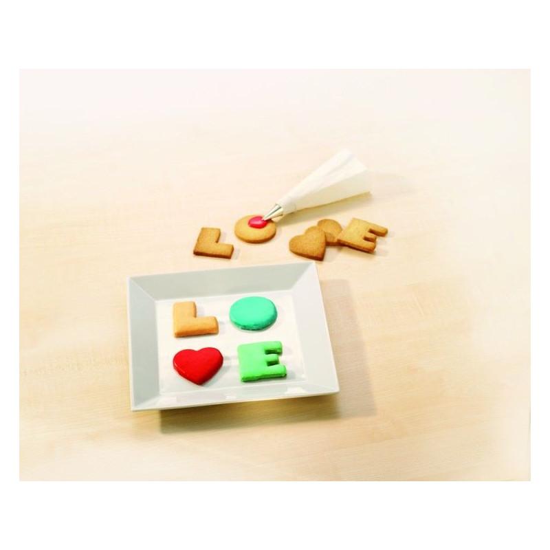 Cortante pack letras : LOVE
