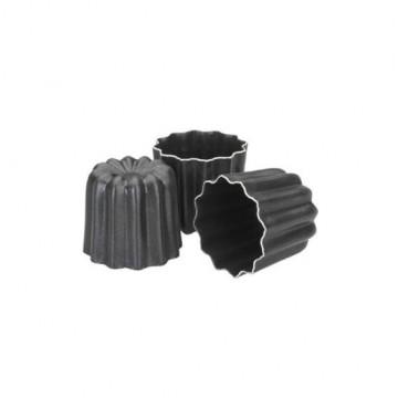 Pack de 4 moldes Cannelés Ibili