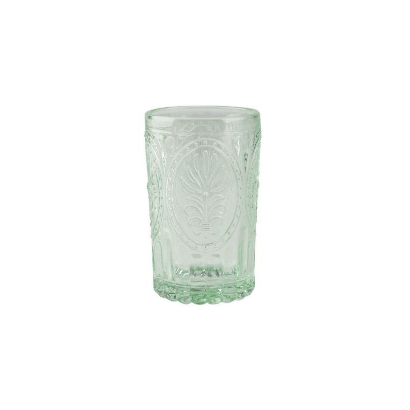 Vaso de cristal labrado Azul Festival Folk Katie Alice [CLONE] [CLONE]
