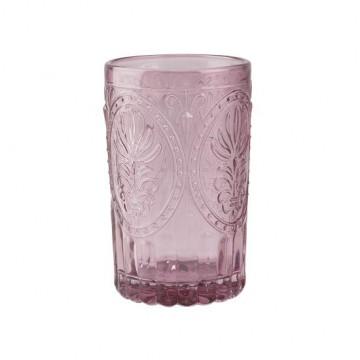 Vaso de cristal labrado Rosa Festival Folk Katie Alice