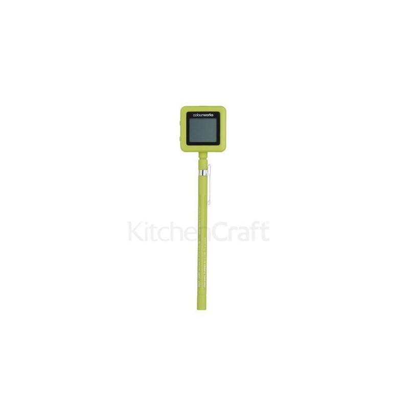 Termómetro digital Verde Kitchen Craft