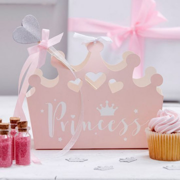 Pack 5 cajas regalo Corona Princesa