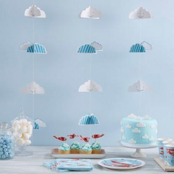 Guirnalda de Nubes 3D