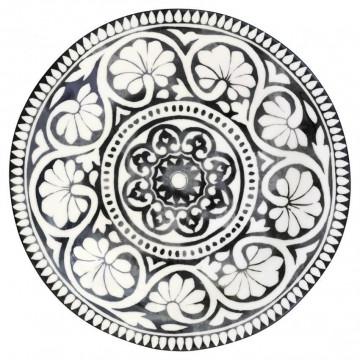 Plato de cerámica postre Sasha Black Green Gate