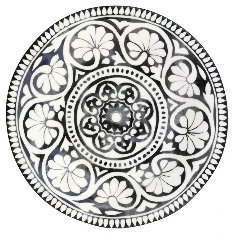 Plato de cerámica grande Sasha Black Green Gate [CLONE]