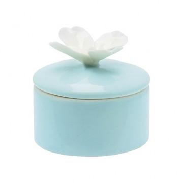 Joyero de cerámica Crema con Flor Rosa Green Gate [CLONE] [CLONE]