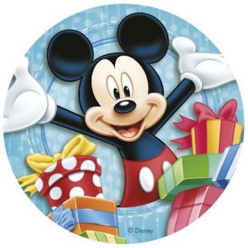 Papel de azúcar 20 cm Mickey Mouse