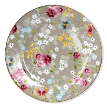Plato de cerámica grande Chinese Rose Khaki PIP Studio