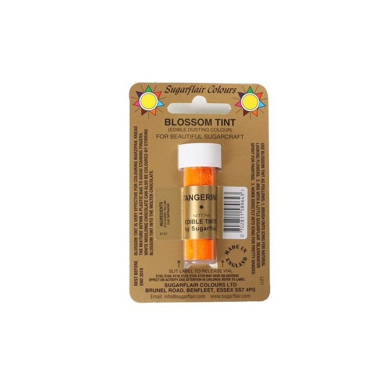 Colorante en polvo Tangerine Blossom Sugarflair