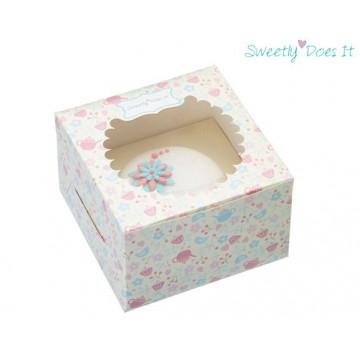 Cajas, pack 4 cajas para 1 cupcakes Sweetly does it