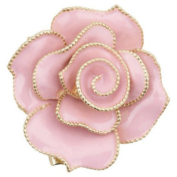 Broche Rosa rosa y Oro Servilletero Green Gate
