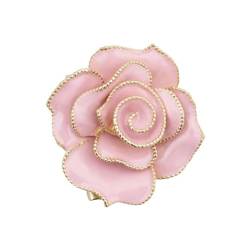 Broche Rosa rosa y Oro Servilletero Green Gate