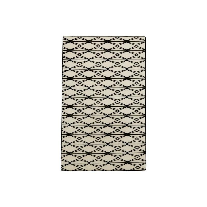 Bandeja rectangular de cerámica Rombos Green Gate