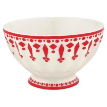 Bol de cerámica pequeño Fleur Red Green Gate