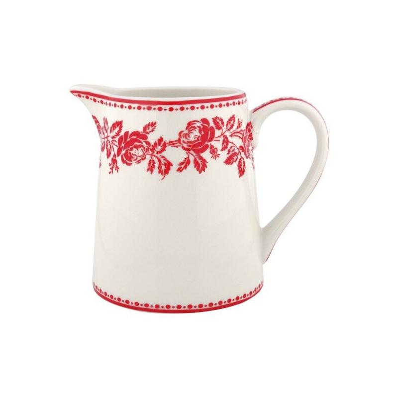 Lechera de cerámica 500 ml Fleur Red Green Gate