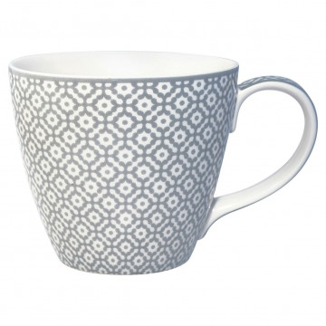 Taza con asa Jasmina Warm Grey Green Gate