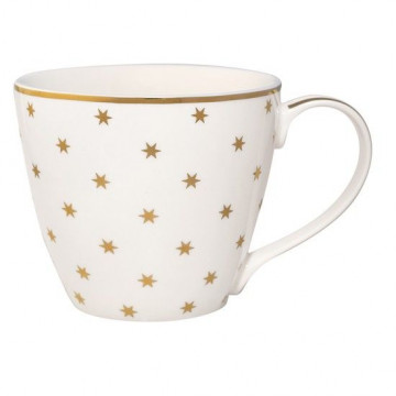 Taza con asa Nova Gold Green Gate
