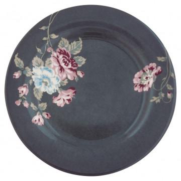 Plato de cerámica de 20 cm Maude Dark Grey Green Gate