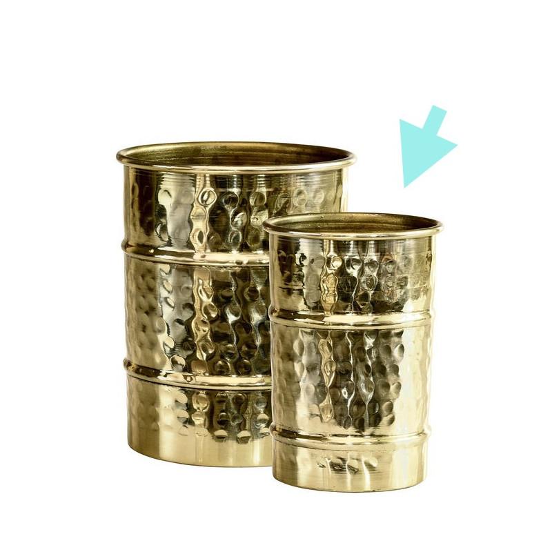 Vaso de metal Pequeño Oro Viejo Green Gate