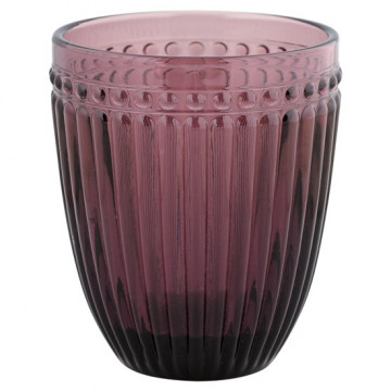 Vaso de cristal labrado Rosa Alexa Plum Green Gate