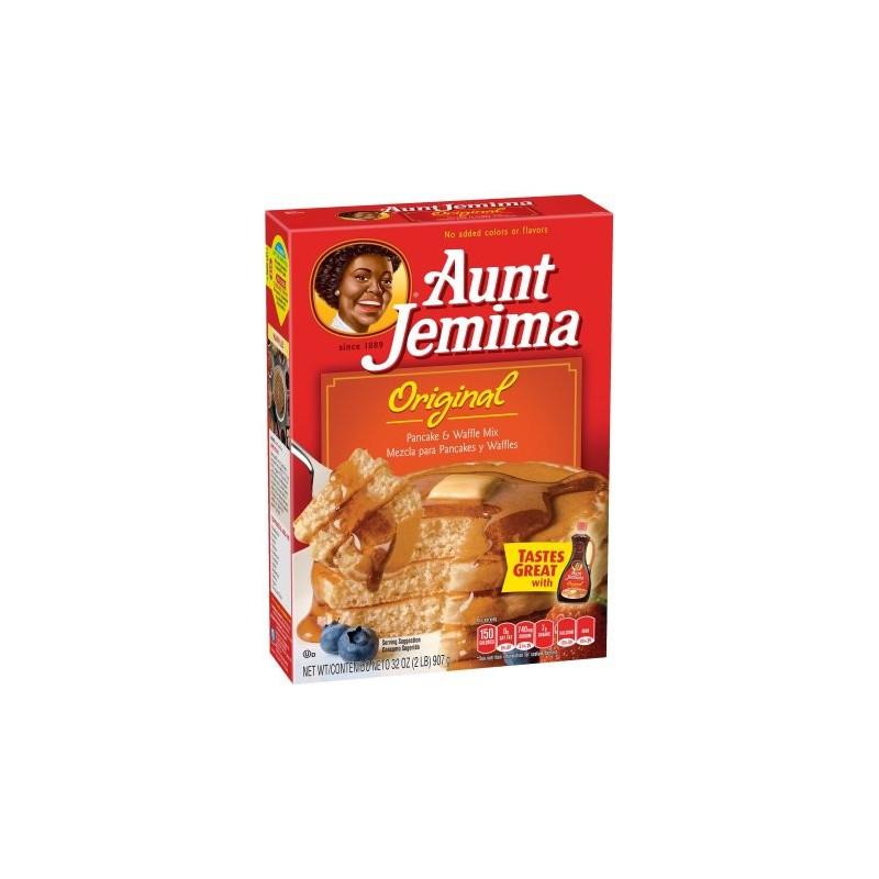 Preparado para Pancakes Aunt Jemima