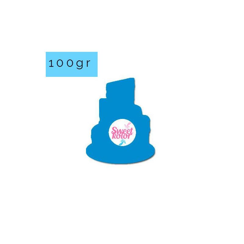 Fondant Azul Super Héroe 100 gr Sweet Kolor