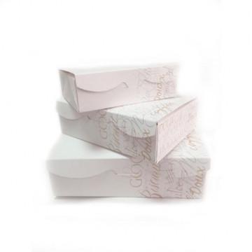 Caja para dulces rectangular