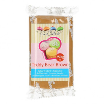 Fondant marrón claro Teddy Bear 250 gr
