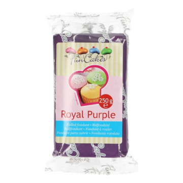 Fondant púrpura Royal Purple Funcakes 250 gr