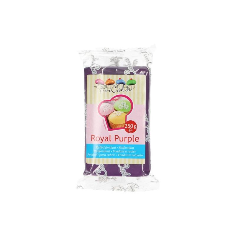 Fondant púrpura Royal Purple Funcakes 250 gr
