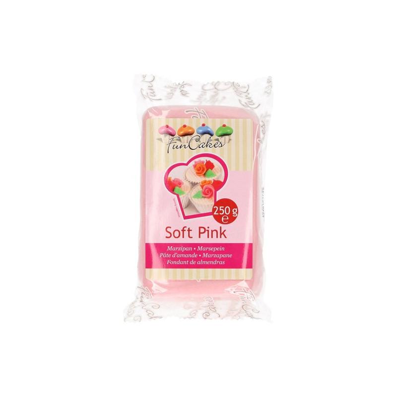 Mazapán Rosa Pastel Soft Pink 250 gr Funcakes