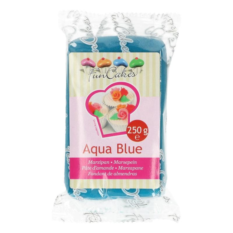 Mazapán Azul Aqua Blue 250 gr Funcakes