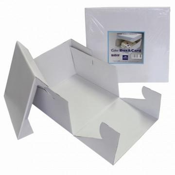 Caja para tarta cuadrada de 27.5 cm PME