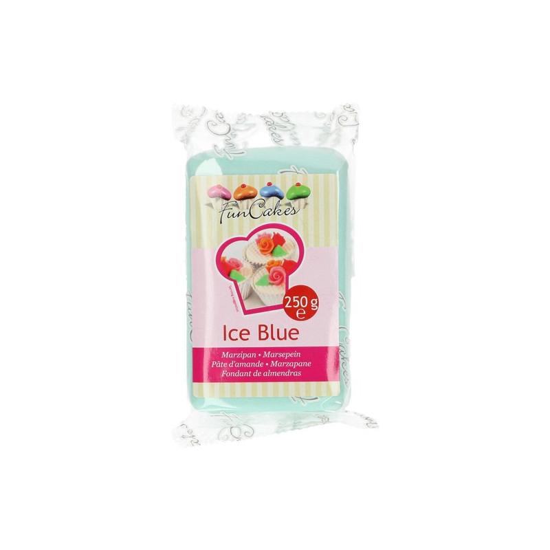 Mazapán Azul Hielo Ice Blue 250 gr Funcakes