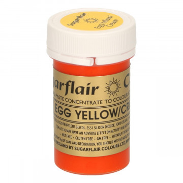 Colorante en pasta Egg Yellow/Cream Sugarflair