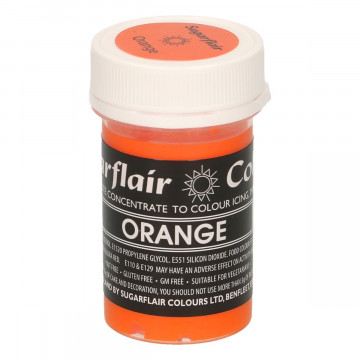 Colorante en pasta Gama Pastel Naranja Orange Sugarflair