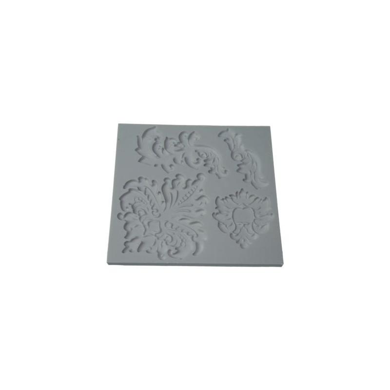 Molde silicona Barroco Alphabet Mould
